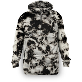 Loose Riders Fleece Anorak Men, electric tie dye